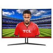 TCL T27M6CG 27英寸144Hz高刷新率 1800R支持FreeSync同步技术游戏电竞曲面显示器