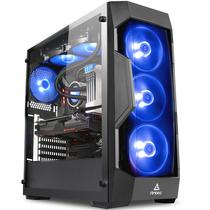 安钛克 DF500 星盾RGB 侧透机箱(钢化玻璃侧透/3把RGB风扇/支持360水冷/ATX主板/长显卡/稳稳吃鸡)产品图片主图