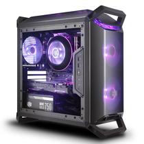 酷冷至尊 MasterBox Q300P 迷你机箱(M-ATX/自带双RGB风扇/4大板商灯效支持/支持长显卡)产品图片主图