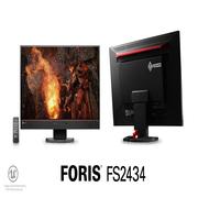 艺卓 FS2434 23.8英寸电竞游戏专业显示器 全高清IPS硬屏LED液晶