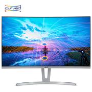 宏碁 ED273 27英寸1800R曲率窄边框VA广视角全高清爱眼不闪屏曲面显示器 显示屏(白色HDMI版)