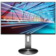 AOC I2490PXZ 23.8英寸 IPS广视角 109%NTSC广色域 1.5mm窄边框 全接口 低蓝光不闪 可升降旋转液晶显示器