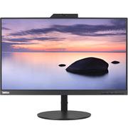 联想 T24v 23.8英寸 红外线人脸识别 高清旋转升降窄边框 IPS屏显示器 内置音箱