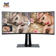 优派  VP3881 37.5英寸 21:9  准4k 超宽屏曲面 专业摄影绘图设计电脑显示器
