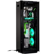 追风者  217XE 豪华版 曜石黑 ITX电竞水冷VR全铝机箱(支持280水冷/长显卡/ATX电源/配2把风扇)产品图片主图
