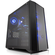 酷冷至尊 MasterBox Pro 5 中塔式机箱(支持EATX主板/钢化玻璃侧板/前镜面板/USB3.0/12cm风扇)