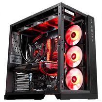 联力 包豪斯O11 黑 电脑机箱 高塔8槽/双U3+Type-c/双面玻璃/支持三面水冷及E-ATX服务器主板/双电源仓产品图片主图