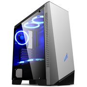 金河田 峥嵘Z6 游戏水冷台式机电脑主机箱(ATX/M-ATX/长显卡/全侧透明/RGB呼吸灯/360冷排)
