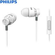 飞利浦 手机耳机 低音强劲 加固线缆 SHE5205(白)