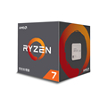 AMD 锐龙 7 2700X 处理器 8核16线程 AM4 接口 3.7GHz 盒装