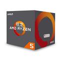 AMD 銳龍 5 2600 處理器 6核12線程 AM4 接口 3.4GHz 盒裝