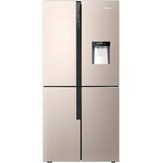 容声  460升 十字对开门多门冰箱 时尚水吧 双变频 一级能效 宽幅变温 伯雅钢  BCD-460WVK1FPMR