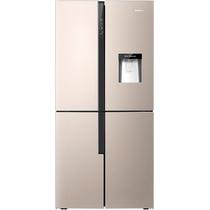 容声  460升 十字对开门多门冰箱 时尚水吧 双变频 一级能效 宽幅变温 伯雅钢  BCD-460WVK1FPMR产品图片主图
