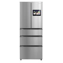 美的  BCD-360WTZV 360升智慧彩屏多门无霜电冰箱  智能摄像头 (APP远程控制) 炫彩钢产品图片主图