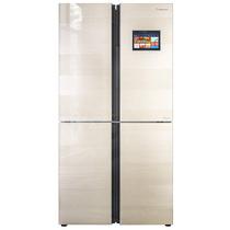 海信 550升十字对开门冰箱  变频风冷无霜 WIFI智控 玻璃面板  BCD-550WMB1DPUJ产品图片主图