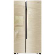 海信 529升 对开门冰箱 矢量双变频 风冷无霜 电脑控温 玻璃面板  BCD-529WFB1DPQ