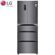 LG GR-K40PNDQ 447升大容量对开门冰箱 线性变频 风冷无霜冰箱(流星银)