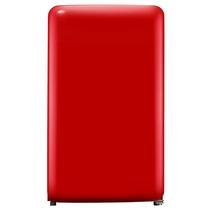 小吉 单门迷你复古冰箱小家用冷冻冷藏小型电冰箱 BC-121CR产品图片主图