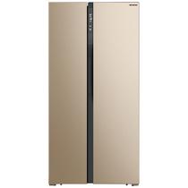 美菱 455升双开门双变频 风冷无霜 636mm纤薄 杀菌净味 金色纤薄对开门冰箱 BCD-455WPCX产品图片主图