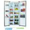 美菱 455升双开门双变频 风冷无霜 636mm纤薄 杀菌净味 金色纤薄对开门冰箱 BCD-455WPCX产品图片4