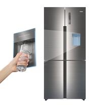 海尔 471升变频风冷无霜干湿分储十字对开门冰箱 外取水 T.ABT杀菌 布鲁钢质感面板 BCD-471WDEA产品图片主图