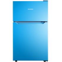 容声  92升 迷你彩色双门冰箱小型 深冷速冻 节能静音 迈锡尼蓝 BCD-92D11D产品图片主图