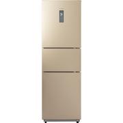 美的 226升 风冷无霜 电脑控温三门冰箱 中门24档调温 芙蓉金 BCD-226WTM(E)