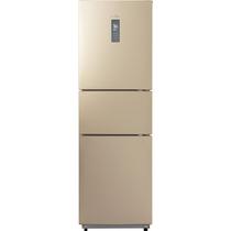 美的 226升 风冷无霜 电脑控温三门冰箱 中门24档调温 芙蓉金 BCD-226WTM(E)产品图片主图