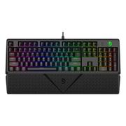 富勒 第九系 G900S RGB 幻彩背光机械键盘 104键原厂Cherry轴 樱桃轴机械键盘 红轴 黑色