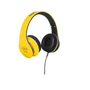 BBS CS-33头戴式耳机 重低音立体声 手机音乐 监听耳机 竞速黄