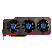 盈通 GeForce GTX 1080 8G D5X 大地之神1607-1734MHz/10000MHz 8G/256bit/GDDR5X
