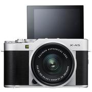 富士 X-A5 XC15-45 银黑色 微单电套机