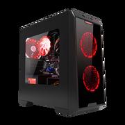攀升(IPASON) AMD 锐龙R3 2200G (4GB+七彩虹320G固态硬盘)台式游戏电脑主机办公组装机全套