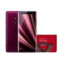 索尼 Xperia XZ3 H9493 HDR OLED显示屏 6GB+64GB 波尔多红 精灵旅社3 京东限量版 4G88必发手机娱乐