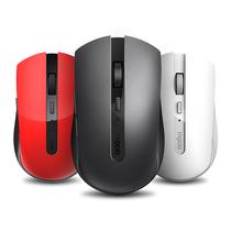 雷柏 7200M多模式无线鼠标 红色产品图片主图