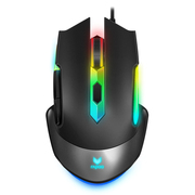 雷柏 V302C幻彩RGB电竞游戏鼠标