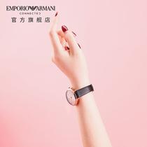 Emporio Armani 阿玛尼手表佟丽娅同款轻奢时尚商务智能腕表女士表细腕带满天星ART3027产品图片主图