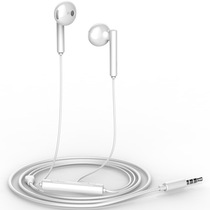 华为 荣耀原装三键线控带麦半入耳式耳机AM115白色产品图片主图