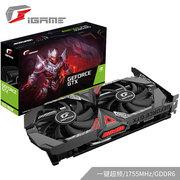 七彩虹 iGameGeForceGTX1650SUPERUltraOC4G1530-1755MHzGDDR6台式电脑游戏显卡