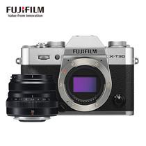 富士 X-T30XT30微单相机套机银色35mmF2定焦镜头黑2610万像素4K视频蓝牙WIFI产品图片主图
