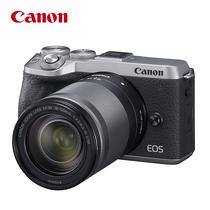 佳能 EOSM6MarkII18-150镜头银色微单套机大变焦一镜走天下触控翻转LCDVlog视频拍摄产品图片主图