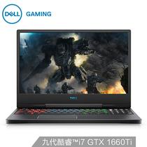 戴尔 G715.6英寸远程办公游戏笔记本电脑九代i7-9750H16G1TSSDGTX1660Ti6G独显240Hz2年全智黑产品图片主图
