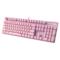 雷柏 V500PRO冰激凌粉、清冽紫背光游戏机械键盘产品图片3