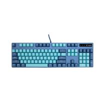 雷柏 V500PRO蔚蓝皇朝、青花蓝背光游戏机械键盘产品图片主图
