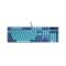 雷柏 V500PRO蔚蓝皇朝、青花蓝背光游戏机械键盘产品图片1